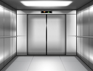 empty elevator cabin with closed doors inside 107791 594